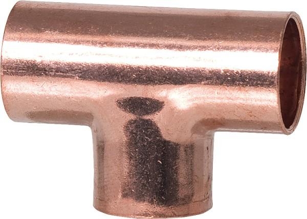 Kupferlötfittings 5130 T-Stück 15 mm Kupfer