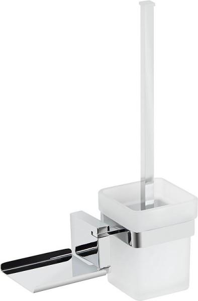 WC-Wandgarnitur Erico Zink verchromt inkl. Befestigung