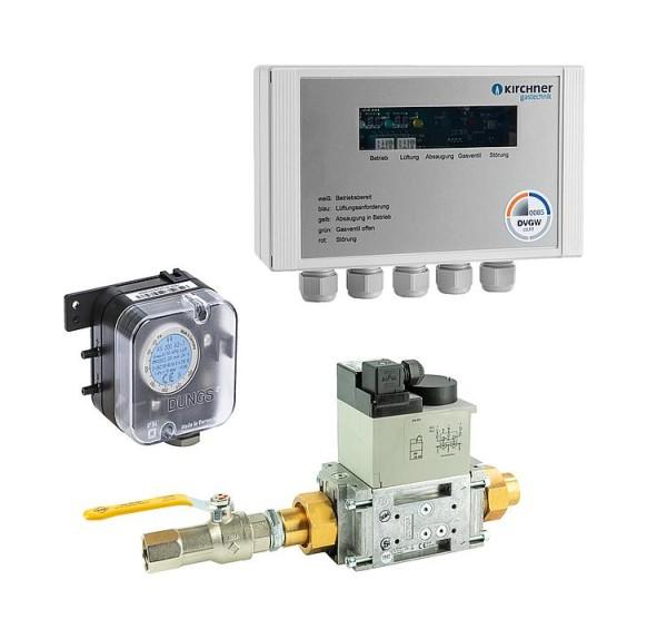 Küchenabgassicherung EMS 315R05 DN15(1/2) 230V bis 40KW Belastung