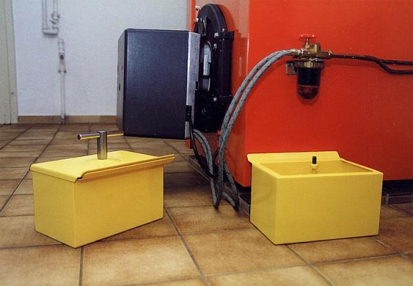 Wartungsboy ca. 5 Liter Inhalt - zum Auffangen von Öl und ölverschmutzer Teile Kundendienst
