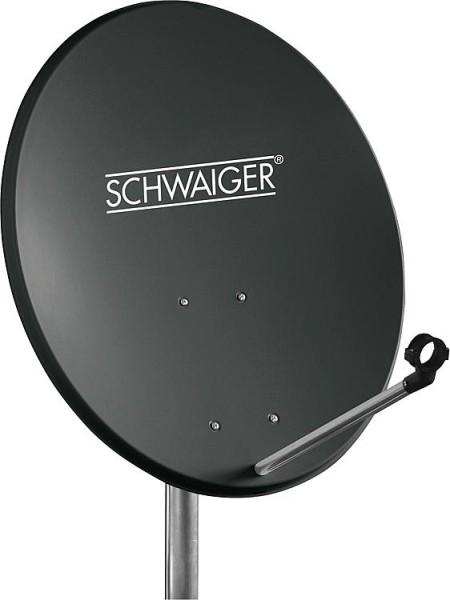 SAT-Spiegel Schwaiger 55cm Stahl, anthrazit