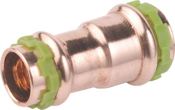 Kupfer Pressfitting Reduziermuffe 18x15mm Typ P5240 sudo press