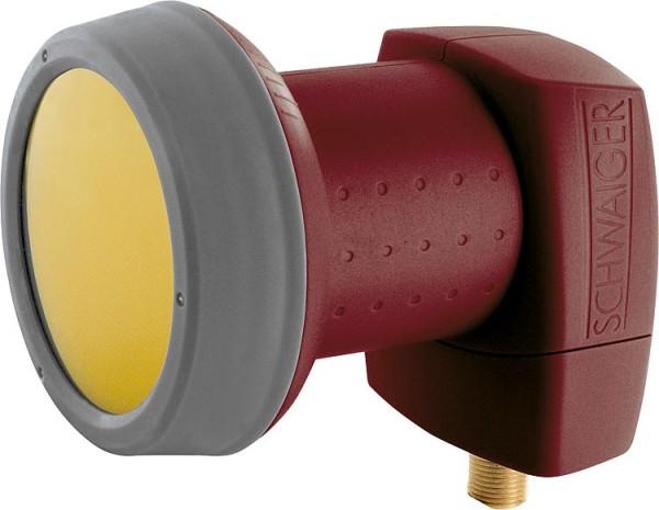 Single LNB Schwaiger 40mm Sun Protect, ziegelrot