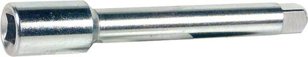 Werkzeugverlängerung verzinkt, f. 4kt. 3,4 mm, Lg. 95 mm EINZELN