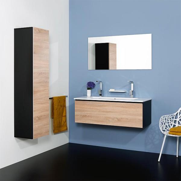 WTU + Keramik-WT Serie ELA Korpus weiß smt - Front weiß smt 610x420x510mm