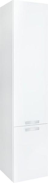 Spiegelschrank m. bel. Blende anthrazitHochglanz 1 Türe 600x750x188mm