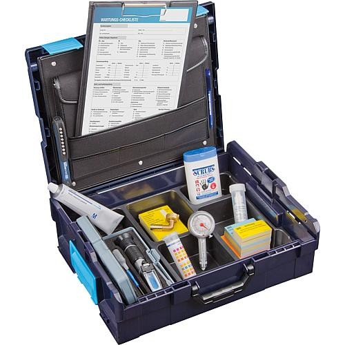 WS L-Boxx 136 Wartungskoffer Set mit Checkliste