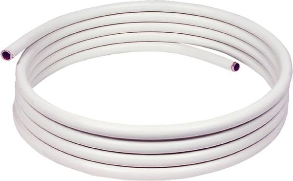Kunststoffummanteltes Kupferrohr in Ringen a 25 m, 15 x 1,0 mm DIN-EN 1057