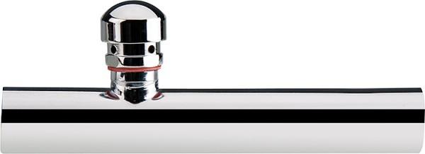 Wandrohr mit Rohrbelüfter Messing verchromt 32 x 300 mm Sifon Zubehör