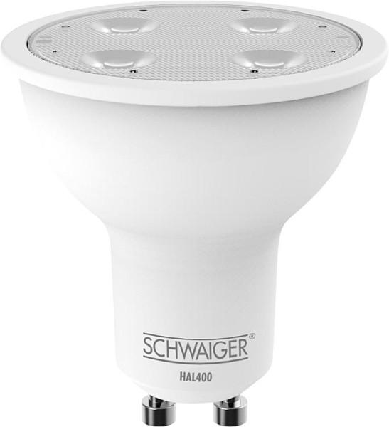 HOME4YOU LED Leuchtmittel GU10 4,5W, Schwaiger, ZigBee warmweiß