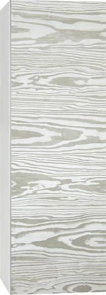 Hochschrank ELA mit Softclose Korpus weiß smt - Front weiß smt 400x1600x350mm