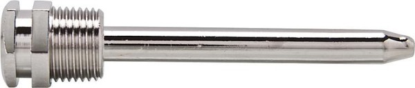 Tauchhülse Alre THK-2-600 Messing vernickelt, Bl:600mm, DN15 (1/2)