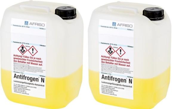 2 Leckflüssigkeit Antifrogen N 4 l Konzentrat f. 10 l Flüssigkeit Tank Öltank Öl