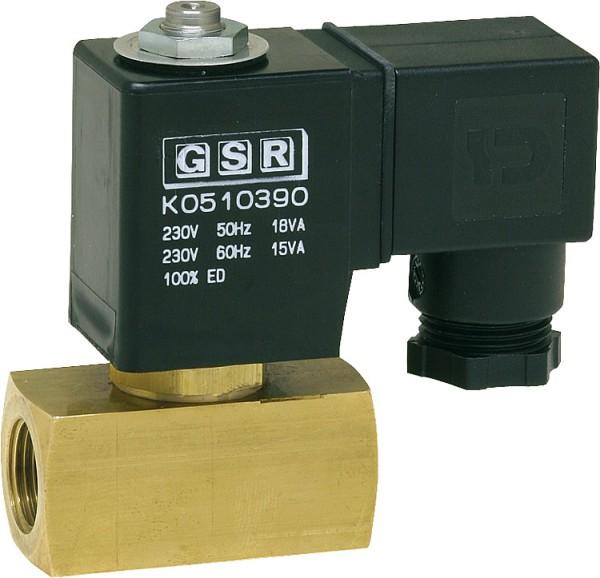 """GSR Heberschutzventil Typ A5256/1002/032 3/8"""" 0,4-4 bar 230V Antiheberventil"""