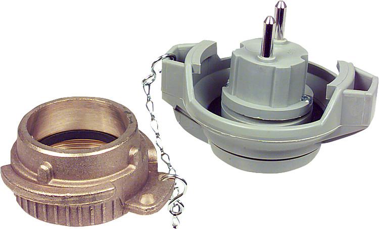 Anschlussarmatur Bajonett R 2 Art.-Nr Afriso Grenzwertgeber F/üllverschluss GWG 20430