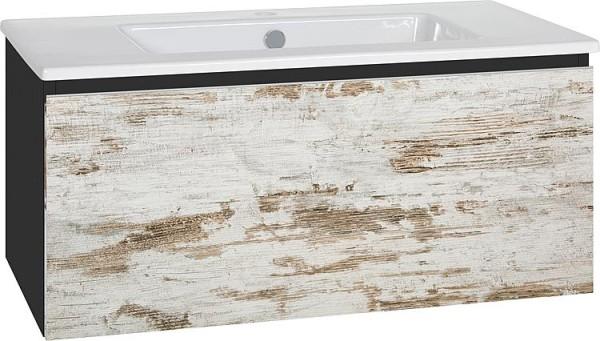 WTU + Keramik-WT Serie ELA Korpus schwarz smt-Front schwarz smt, 1210x420x510mm
