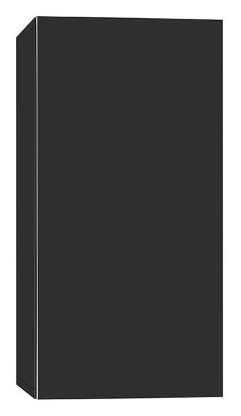 Hochschrank ELA mit Softclose Korpus weiß smt - Front Teak 400x1200x350mm
