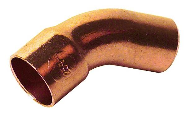 Kupferlötfitting 5040Bogen 45 , 15 mm