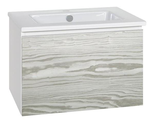 WTU + Keramik-WT Serie ELA Korpus weiß smt - Front weiß sgl 910x420x510mm