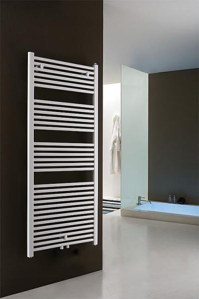 Badheizkörper mit Mittelanschluss Größe: 755x460 mm, Farbe: weiß  Handtuchheizkörper Heizkörper