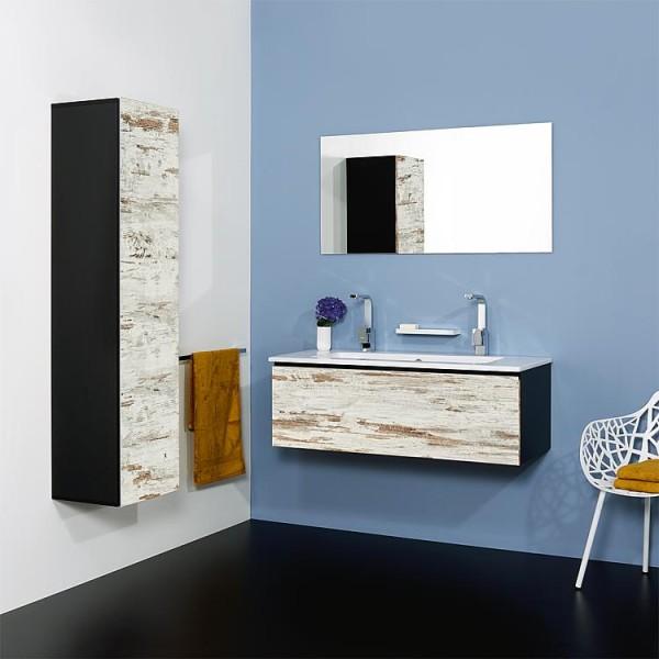 WTU + Keramik-WT Serie ELA Korpus schwarz smt - Front schwarz smt 610x420x510mm