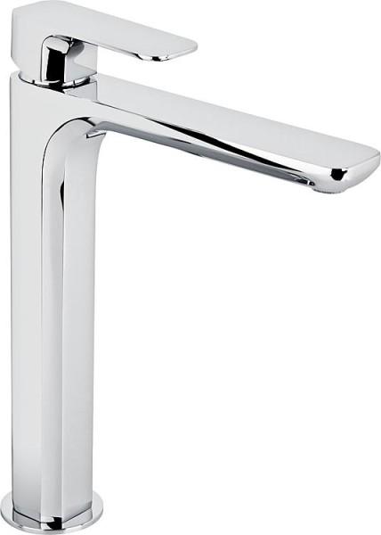 Waschtischmischer Evando mit Klickerablaufgarnitur verchromt Ausladung 185mm, Höhe 243mm Evenes