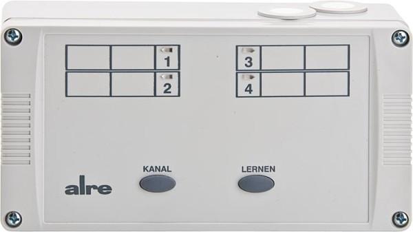 Funkregelung-Heizen-Empfänger Alre HTFRL-214.140, 4-kanal Funkempfänger
