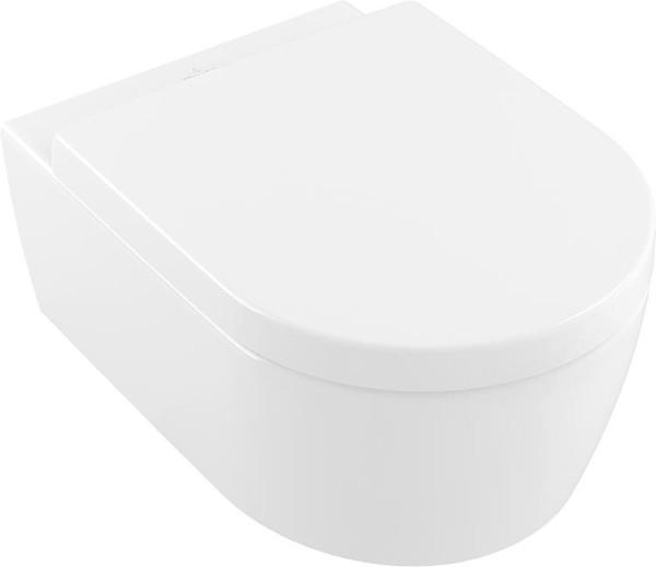Villeroy & Boch Combi Pack Avento Wandtiefspül WC + WC Sitz Softclose weiß 5656HR01
