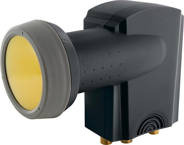 Quad-LNB Schwaiger 40mm Sun Protect, anthrazit