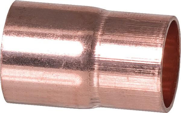 Kupferlötfittings 5243 Absatznippel 22 x 12 mm