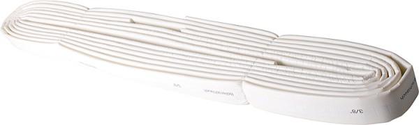 Abflussisolierung stabil 125mm, Dämmdicke 4mm, Schlauch a 10m