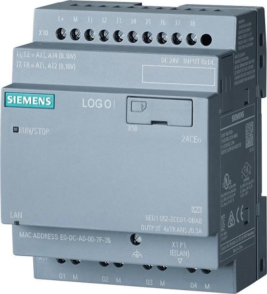 Logikmodul LOGO! 8 Siemens Typ 24CEo, 6ED1052-2CC08-0BA0