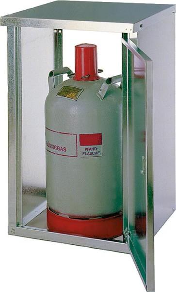 4-Flaschenschrank für 11Kg Flaschen ohne Rückwand HxBxT 735x1670x400 mm