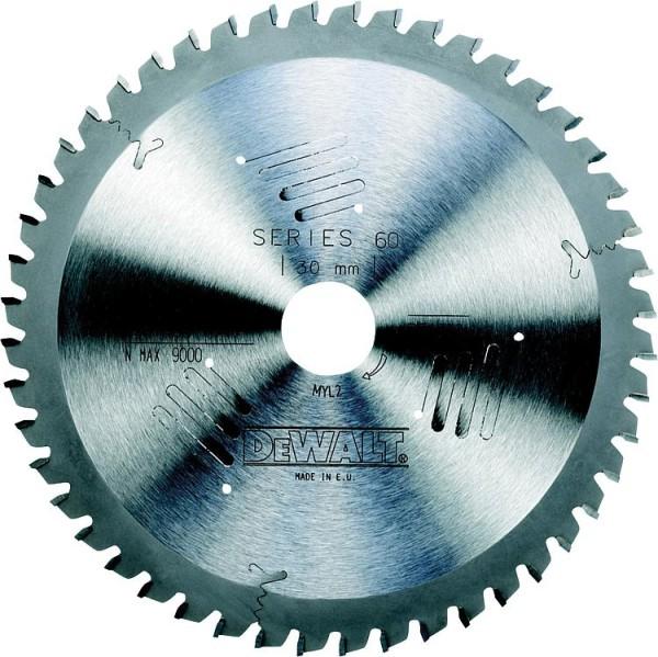 Kreissägeblatt d=235x30mm mit 56 Trapezflachzähnen, passend für DeWalt D23700