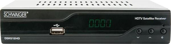 Full HD SAT-Receiver Schwaiger FTA, DSR512HD