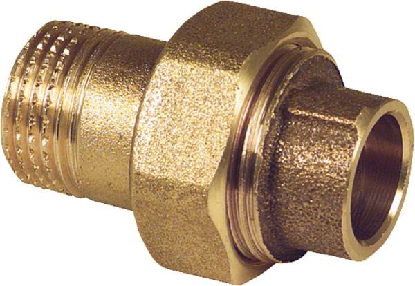 Rotguß-Lötfitting Rohrverschraubung m. Außengewinde Typ 4341g42 x 1 1/2