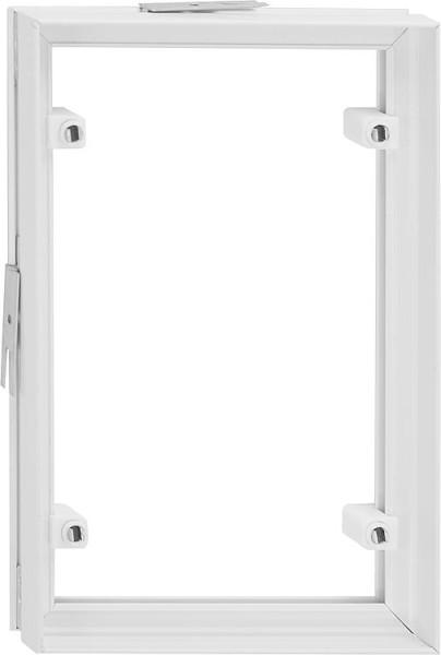 PVC Fliesenrahmen Weiß 206x209 mm