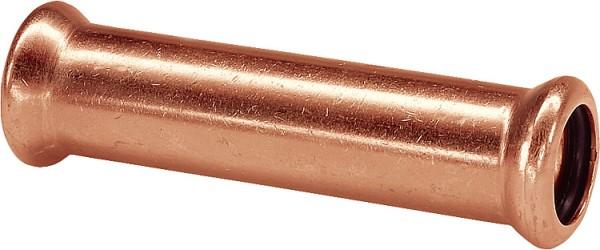 Kupfer Pressfitting Schiebemuffe i/i D:15mm Typ 7270S