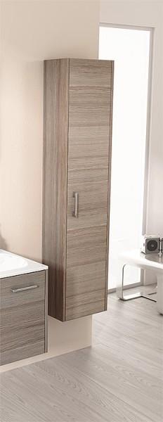 Spiegelschrank m. bel. Blende anthrazitHochglanz 2 Türen 900x740x160mm