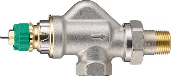 Thermostat-Ventilunterteil Danfoss Dynamic Valve RA-DV, DN10(3/8),UK Axial