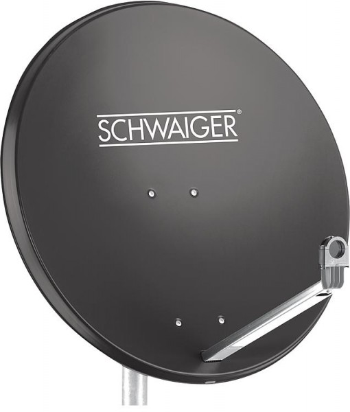 SAT-Spiegel Schwaiger 75cm Aluminium, anthrazit