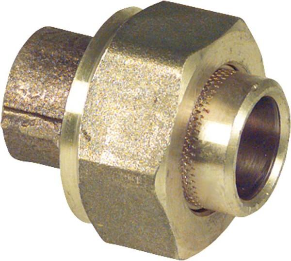 Rotgußlötfitting 4340 12 mm Verschraubung konischdichtend