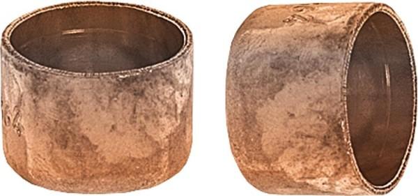 Kupferlötfittings 5301 Kappe 22 mm