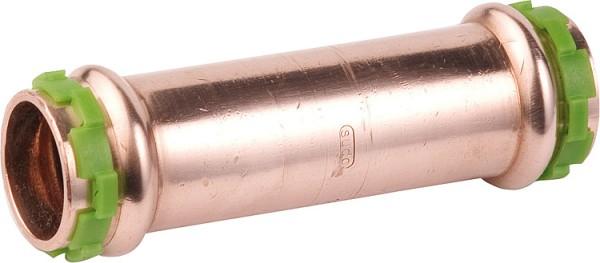 sudo Kupfer Pressfitting Schiebemuffe D: 15mm P 5275 G, i/i
