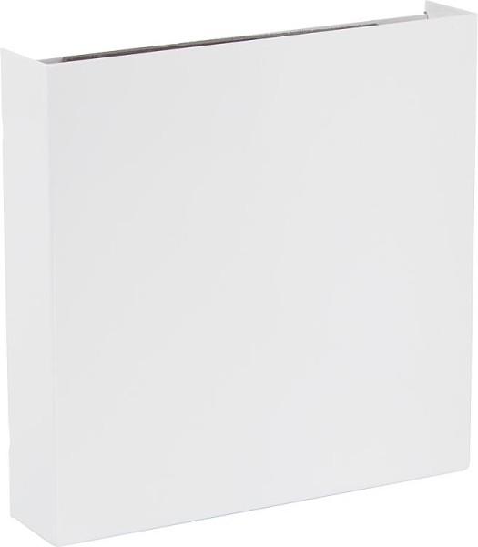 EventAir Innenblende feststehend, Stahlblech weiß 220x220mm