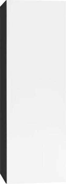 Hochschrank ELA mit Softclose Korpus weiß smt - Front Eiche sägerau 400x1600x350