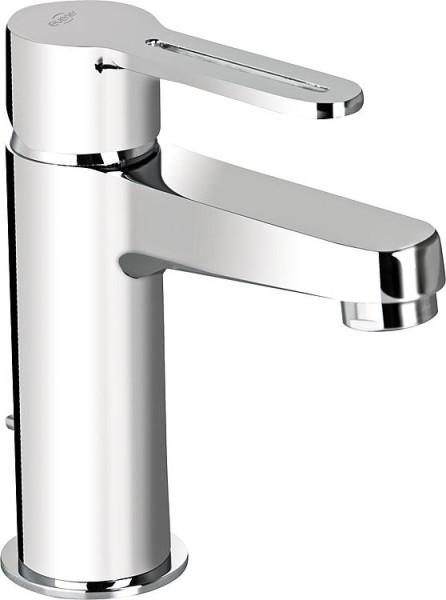 Waschtischmischer Enzan mit Ablaufgarnitur verchromt Ausladung 107mm