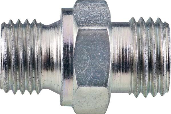 "Pumpennippel Spezialnippel EN 1/4"" zyl. x 8 LR zu Ölschlauch Brötje, Cuenod, Oechsler f. Ölpumpe"