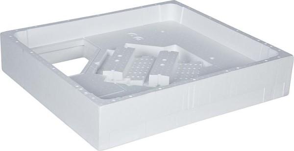 Brause-Set EGMAR-INOX mit Stabhandbrause + Brauseschlauch Brausestange 900mm, Ed