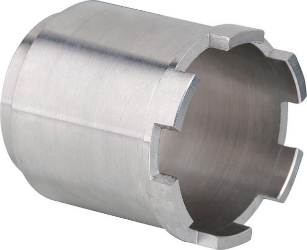 Pendeltüre Hüppe Alpha 2 silber matt, 5mm, 1000mm
